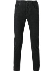 Burberry Brit Corduroy Skinny Trousers Grey