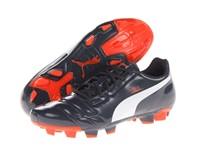 Puma Evopower 4 Fg Ombre Blue White Fluro Peach Men's Shoes Black