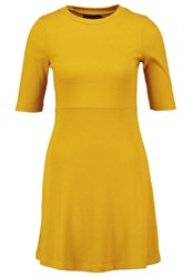 Evenandodd Jumper Dress Yellow