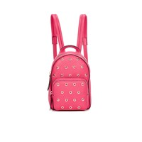 Red Valentino Redvalentino Women's Mini Eyelet Backpack Fuchsia