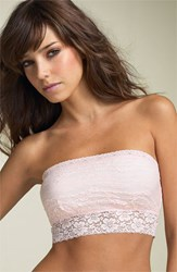Women's Free People Scalloped Lace Bandeau Light Pink