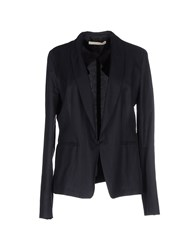 Gold Case Suits And Jackets Blazers Women Dark Blue