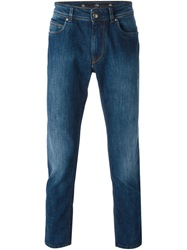 Fay Straight Leg Jeans Blue
