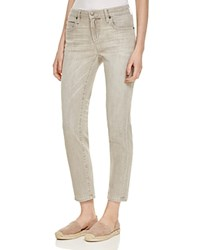 Eileen Fisher Straight Cropped Jeans In Vintage Gray Vtgry