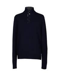 Kangra Cashmere Turtlenecks Dark Blue