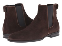 Aquatalia By Marvin K Adrian Dark Brown Dress Suede Men's Pull On Boots