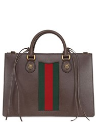 Gucci Animalier Leather Tote Bag