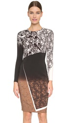 Prabal Gurung Printed Dress Camel