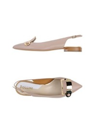 Pollini Ballet Flats Skin Color
