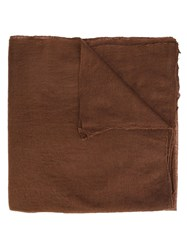 Denis Colomb 'Toosh' Feutre Shawl Brown