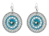 Gypsy Soule Cre54 Earrings Silver Turquoise Earring Multi