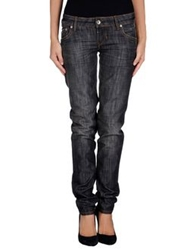 Brian Dales Denim Pants Steel Grey