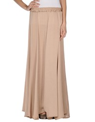 Alpha Studio Skirts Long Skirts Women Sand
