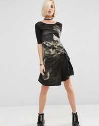 Religion Jaw Dress Black