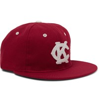 Ebbets Field Flannels Appliqued Wool Baseball Cap Red