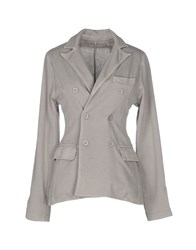 Alpha Studio Suits And Jackets Blazers Women Light Grey