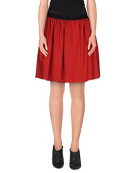 I'm Isola Marras Skirts Knee Length Skirts Women Red