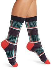 Happy Socks Women's Plaid Crew