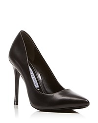 Charles David Rebecca Pointed Toe High Heel Pumps Black