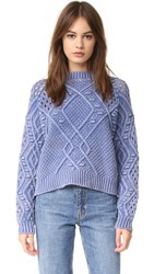 Wildfox Couture Perf Sweater Monday Blues