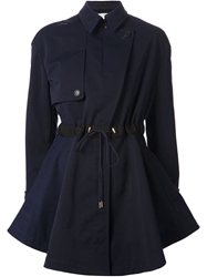 Viktor And Rolf Flared Trench Coat