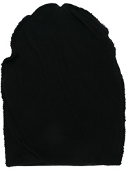 Forme D'expression Slouchy Beanie Hat Black