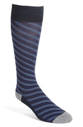 Calibrate Men's 'Diagonal Plaiting' Socks