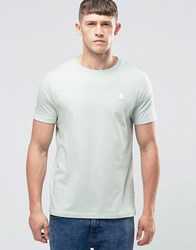 Asos T Shirt With Crew Neck And Logo In Mint Aqua Mint Green
