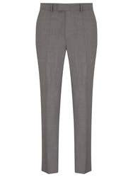 Chester By Chester Barrie Sharkskin Suit Trousers Grey