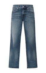 Amo Bow Cropped Jeans Dark Wash