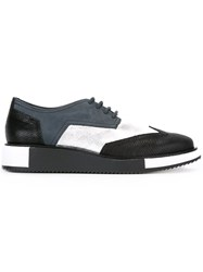 United Nude 'Geo Wing' Derby Shoes Blue