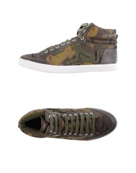 Drunknmunky Footwear High Tops And Trainers Men Military Green