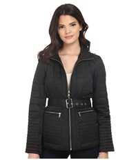 Vince Camuto Quilted K8201 Black Women's Coat
