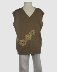 Ch. Ind. Sleeveless Sweaters Military Green