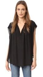 Nili Lotan Normandy Blouse Black