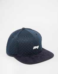 King Apparel Script Premium Snapback Cap Blue