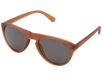 Zeal Optics Memphis Russet W Polarized Dark Grey Lens Fashion Sunglasses Brown