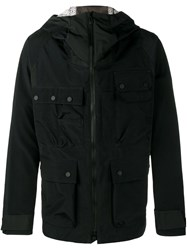 White Mountaineering Hooded Jacket Blue