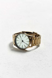 Nixon Sentry 38 Stainless Steel Watch Gold