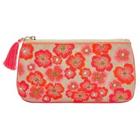 John Lewis Neon Flower Long Pouch Multi