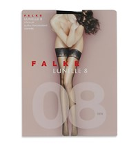 Falke Black Lunelle 8 Stockings Female