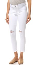 Citizens Of Humanity The Maternity Principle Girlfriend Jeans Wrecked White