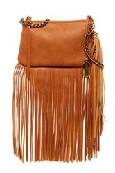 Carlos By Carlos Santana Fiero Mini Chain Fringe Crossbody Brown
