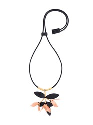 Marni Flower Necklace Black
