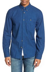 Men's Nudie Jeans 'Stanley' Trim Fit Twill Shirt