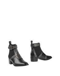 Mr. Wolf Footwear Ankle Boots Women Black