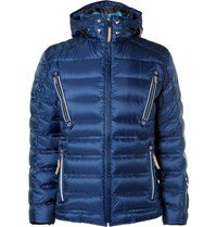 Bogner Jari D Quilted Ripstop Down Jacket Blue
