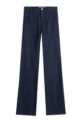 See By Chloe See By Chloe Wide Leg Jeans Blue