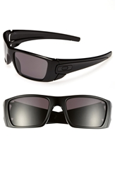 Oakley 'Fuel Cell' 60Mm Sunglasses Polished Black