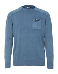 Jeep Pullover Sweater Blue